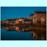 Tranquil Scene, Old Lerwick by Dave Rawlings