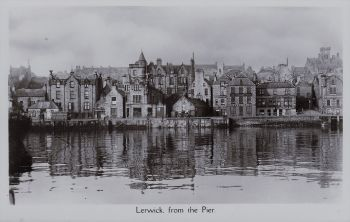 Old photograph of Lerwick
