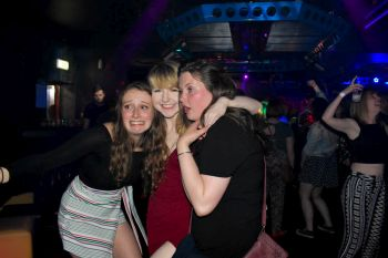 Selfie's and Photos at Posers Nightclub, Lerwick