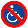 No disabled access