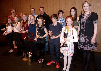 Young Fiddler of the Year Winners