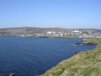 Lerwick South from  The Knab