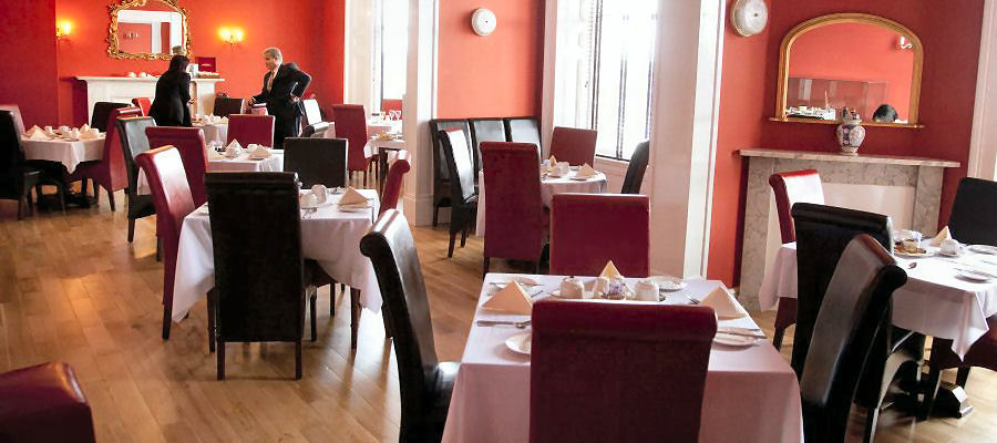 Breakfast Room at the Grand Hotel Lerwick