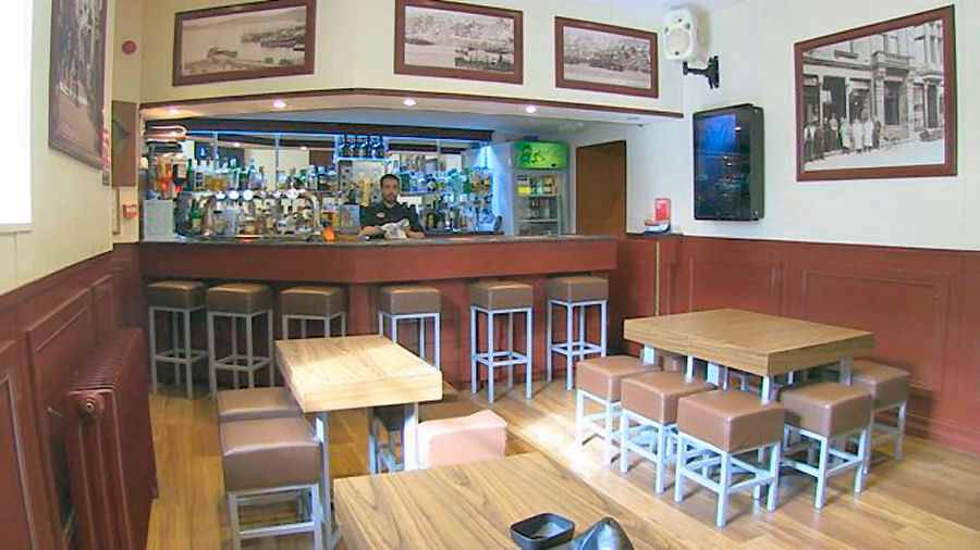 The Public Cafe Bar at the Grand Hotel Lerwick