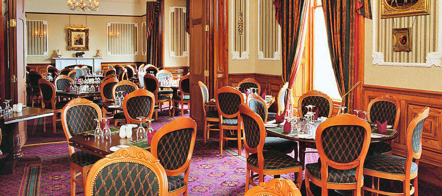 Restaurant at the Grand Hotel Lerwick