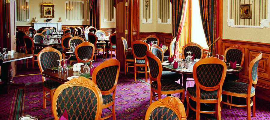 Restaurant at the Grand Hotel, Lerwick