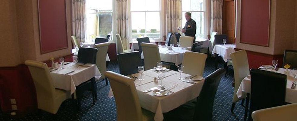 Restaurant at the Queens Hotel, Lerwick