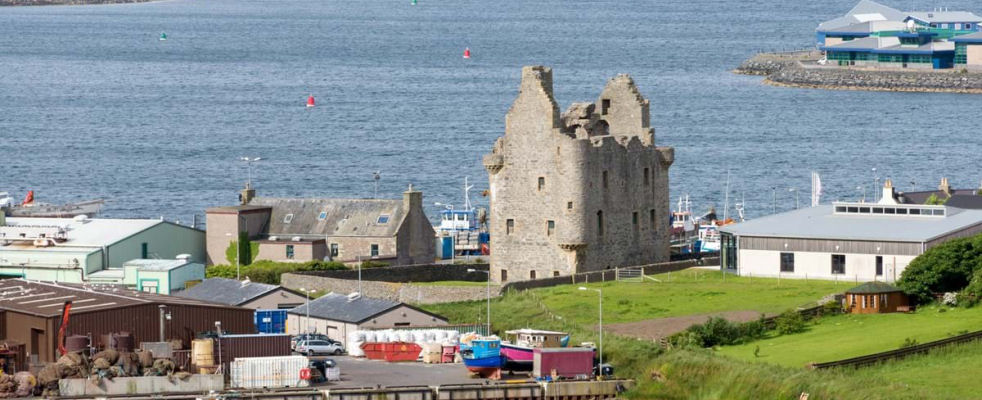 Scalloway Castle and Scalloway Museum, Shetland