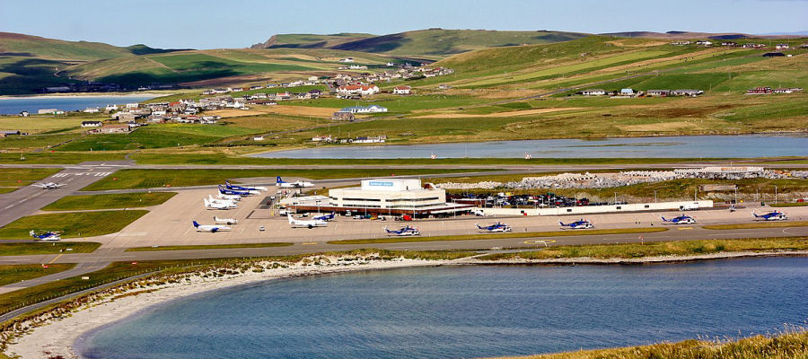 Sumburgh Airport, Shetland Islands