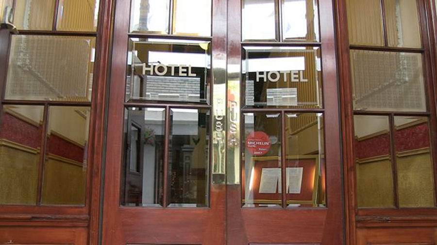 KGQ Hotels Ltd, Grand Hotel entrance, Commercial Street, Lerwick Shetland Islands