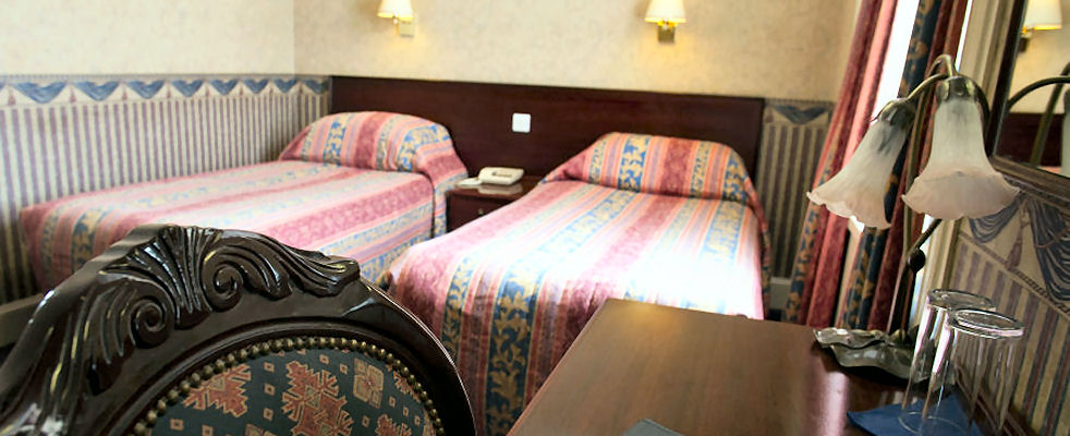 Queens Hotel, Lerwick, Twin Room